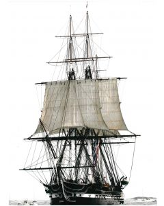 2012 Historic Sail Matted Photograph