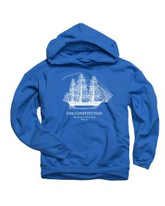 Youth ''Ship'' Royal Blue Hoodie