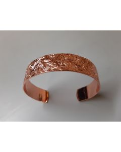 USSC Copper Bracelet: Textured Cuff