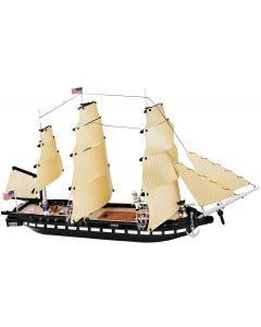 COBI Smithsonian USS Constitution Building Kit
