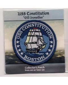 USS Constitution Collector's Patch