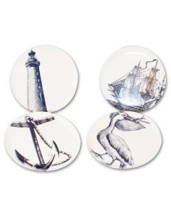 Nautical Plates (Set of 4)