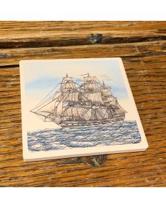 USS Constitution Barlow Coaster