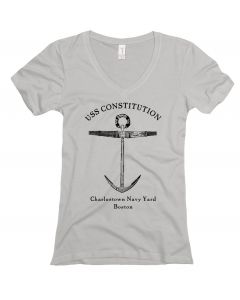 Ladies ''Anchor'' V-neck Tee
