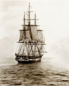 Old Ironsides, Sail 200 18'' x 24'' (Unframed, Unmatted)