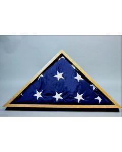 Memorial Flag Presentation Case from USS Constitution Wood