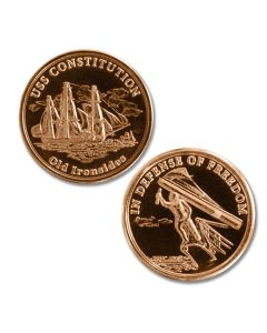 NEW!! Limited Edition USS Constitution Medallion