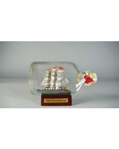 50 cc USS Constitution in a Bottle