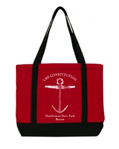 USS Constitution Red ''Anchor'' Tote