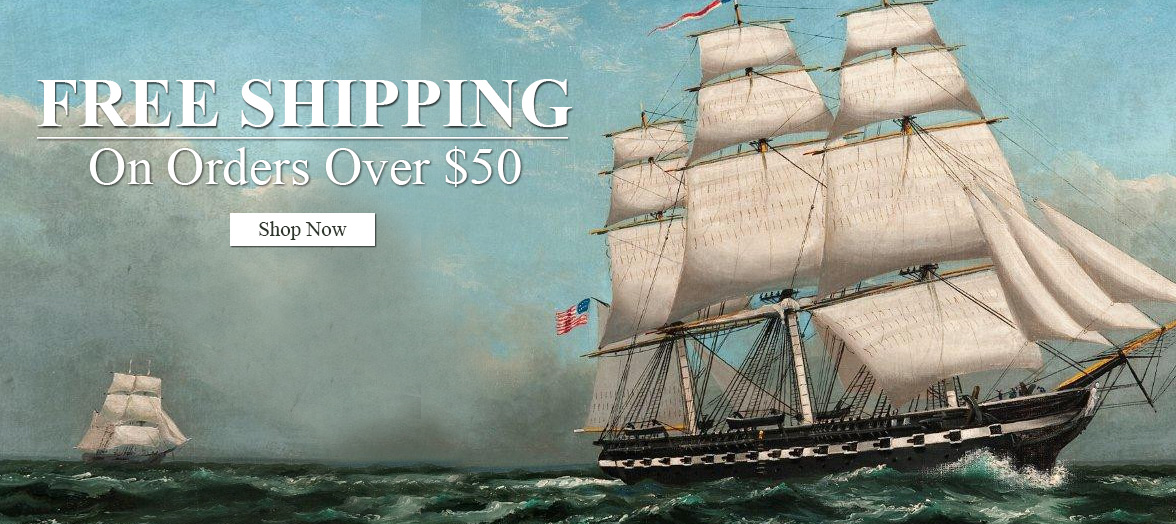Free Shipping on orders over $50